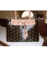 Dooney & Bourke Large Signature Tassel Tote in ... - $110.00