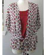 Etta James Two Piece Blouse Ensemble  Size 14 NWT - $26.00