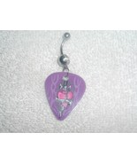Heart with Sword Wild Guitar Pick Navel Belly R... - $6.95