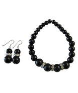 Handmade Stretchable Black Pearl Bracelet Match... - $12.76