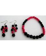 Stunning Stretchable Bracelet Grape Earrings Ma... - $12.08