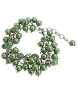 Kelly Green Wedding Bridesmai Bracelet Jewelry ... - $13.33