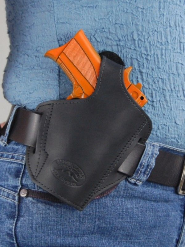 Barsony Leather Pancake Holster KIMBER ULTRA CARRY II ...