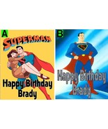 Vintage 1940's Superman Custom Cake Topper  Fro... - $7.99