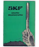 1930s SKF Svenska Kullagerfabriken Catalog Cut ... - $8.90