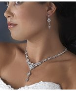 Elegant Vintage Look Crystal Bridal Prom Jewelr... - $54.99