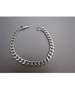 Vintage Avon Silver Tone Metal Link Bracelet Fl... - $9.99