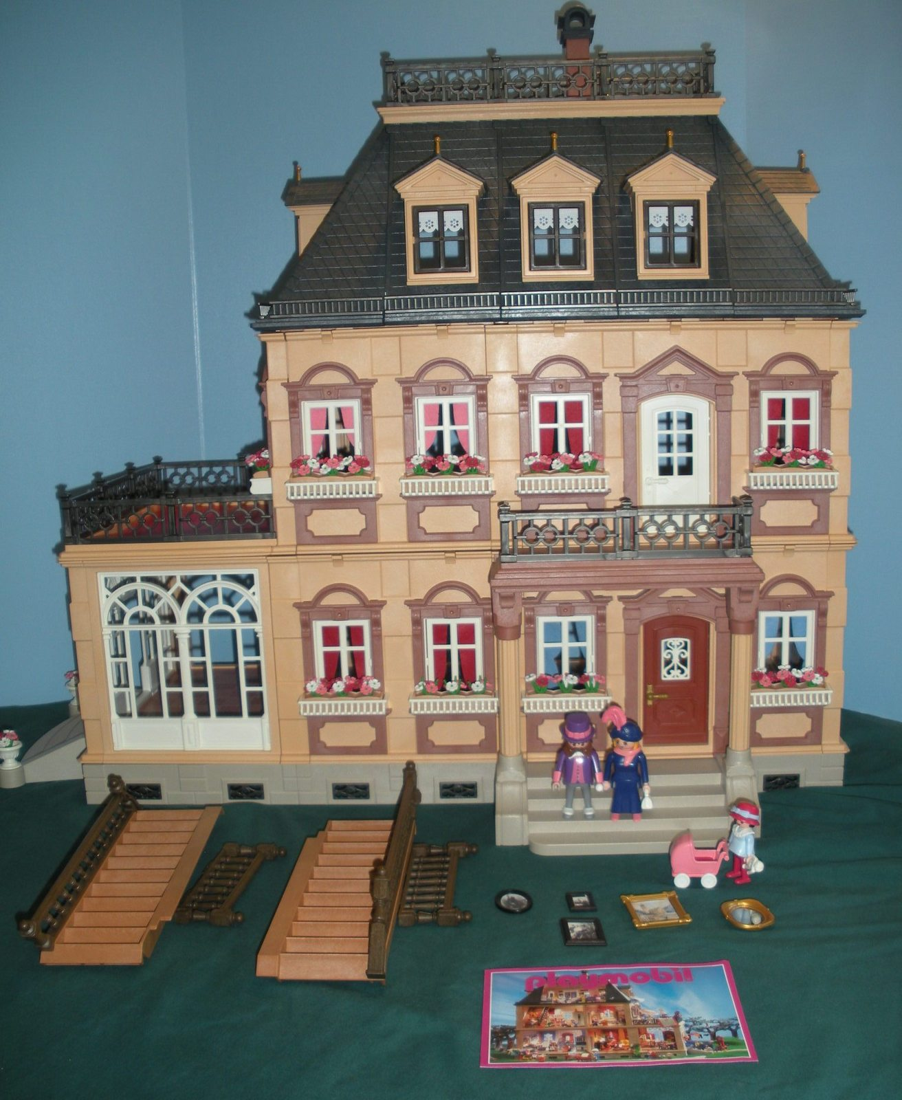 Vintage Playmobil 5300 Victorian Mansion 100 Nr Mint C