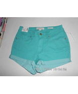 Nicki Minaj Women's Mid Rise Shorts Light Blue ... - $7.99