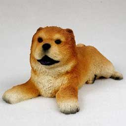 Chow Puppy Figurine Chow Chow Dog