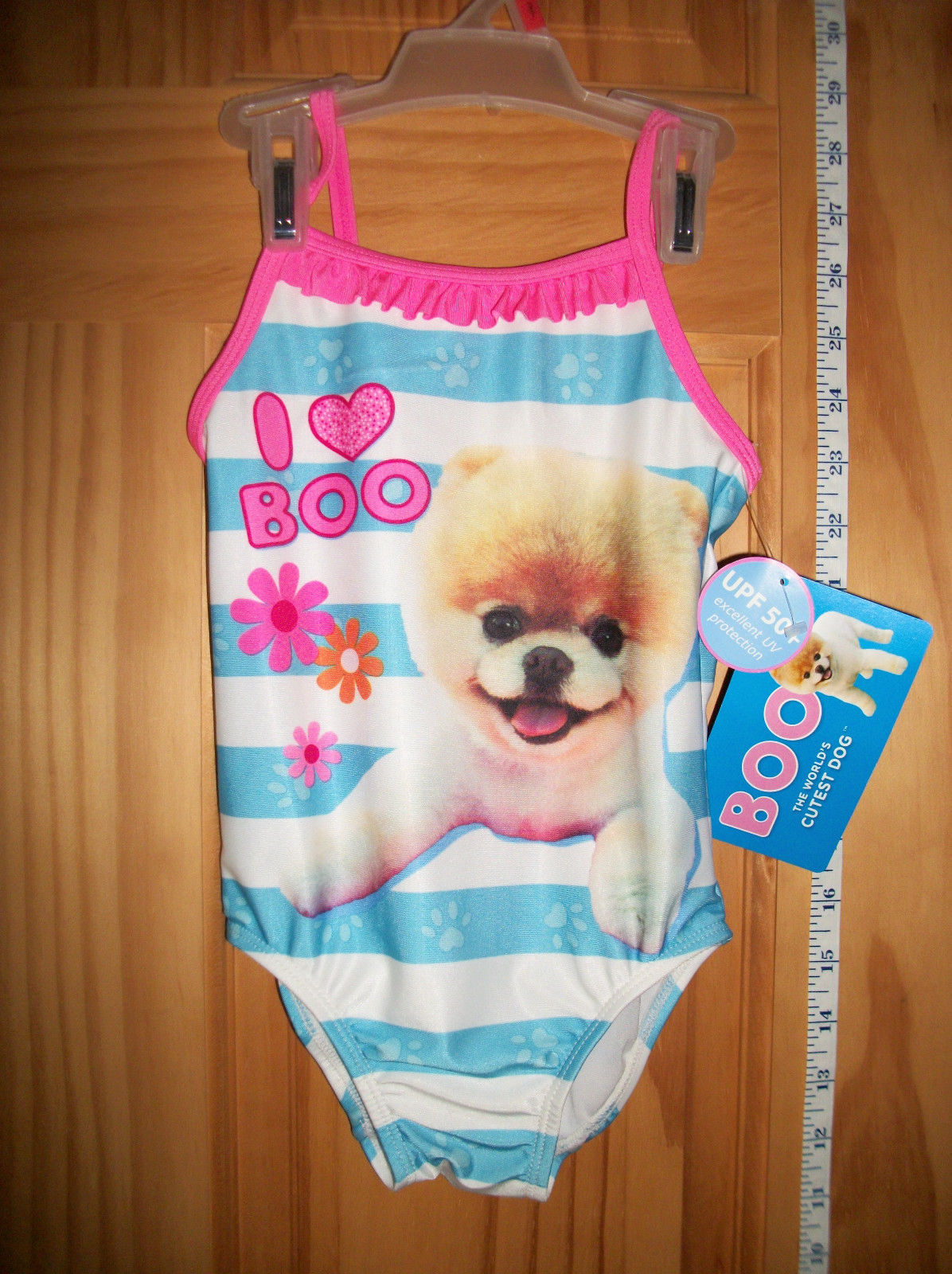 BABY Boo Dog Clothes 2T Toddler Girl Swimsuit World Cutest ...