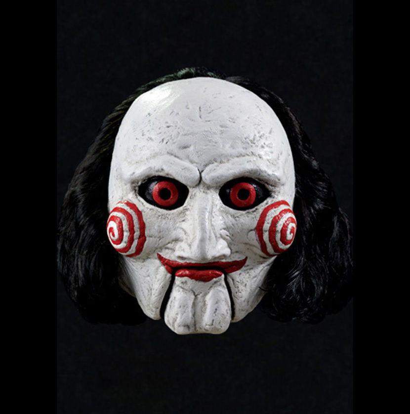 Billy puppet official saw movie adult latex halloween mask masks - Masque halloween film ...