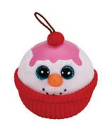 Flakes the Snowman Sundae - Ty Christmas Orname... - $2.99