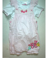 New Girls 4T Set Cute Pink White Butterfly Outf... - $24.00