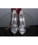 Chinese Laundry silver stilletto heels size 8 - $19.80