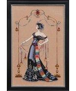 FULL LINEN KIT At The Met MD135 cross stitch Mi... - $84.35