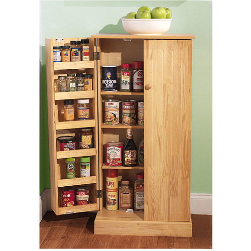 kitchen pantry cupboard cabinet storage organizer spice shelves