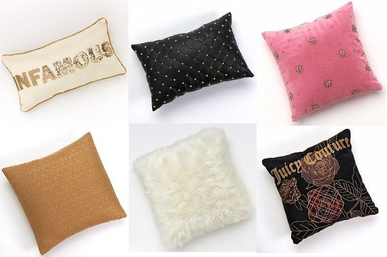 new juicy couture animal instinct bedroom throw pillows