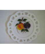 Vintage Lace Edge Salad Plate - Gay Fad Fruit P... - $10.00