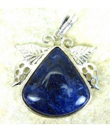Royal Blue with Wisps of White Sodalite Tear Dr... - $51.87