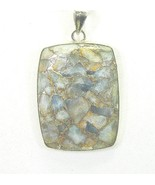 Commanding Rectangle of Natural Aquamarine with... - $118.45