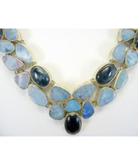 Blue Flash Kyanite + Blue Fire Opal doublet Ste... - $327.49