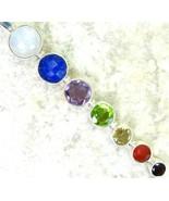 MoonStone Sapphire Ruby Amethyst et al Sterling... - $85.94