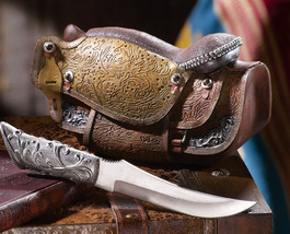 Country Western Cowboy Saddle Knife Set