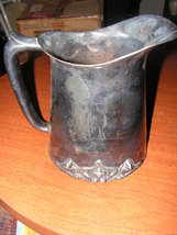 VERY OLD Water pitcher Does have signage on th... - $15.00