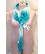 Blue and White Ombre Scarf New with Tags - $10.99