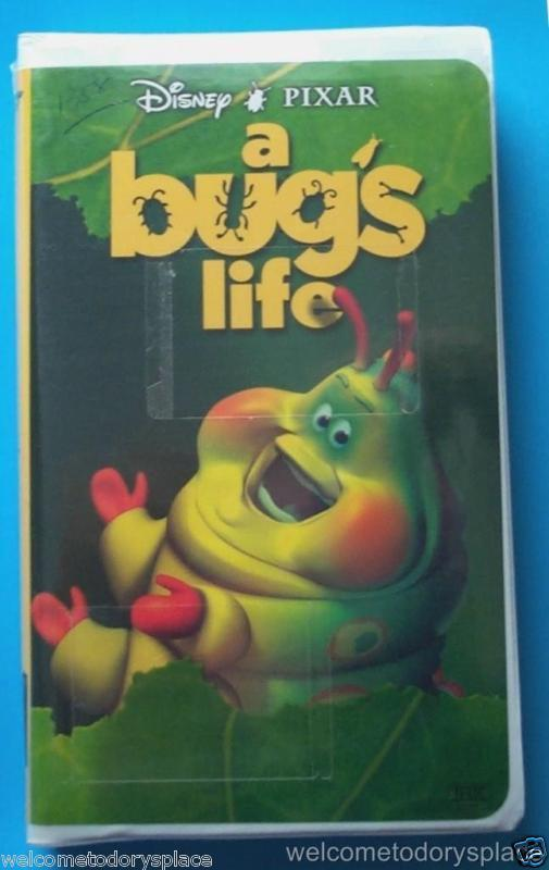 Disney Pixar A Bug's Life VHS Video 1999 CLAMSHELL features Heimlich NEW Sealed