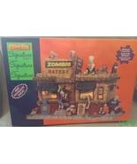 Lemax Halloween Spooky Town Village Zombie Eate... - $54.99