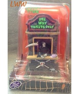 Lemax Spooky Town Ticket Booth Kiosk Grim Reape... - $20.99