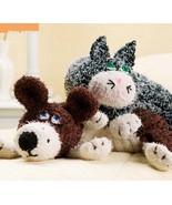W773 Crochet PATTERN ONLY Furry Friends Neck Pi... - $8.45