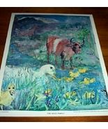 Vintage Children's Print The Duck Family 1962 - $10.00