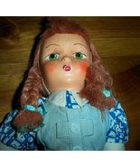 Gorgeous Vintage Red Headed Cloth Girl Doll - $20.00