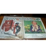 2 Vintage Magazines Country Gentleman 1923 - 1934 - $10.00