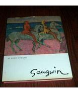 Gauguin Art Book Rene Huyghe Color Illustrations - $10.00