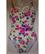 New Jantzen Swim Suit One Piece Floral Size 10 - $35.00