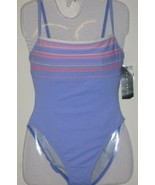 New La Blanca Swim Suit  One Piece Lilac Size 10 - $31.00