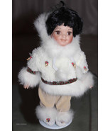 Heritage Dolls Native Arts Crafts Eskimo Girl D... - $24.75