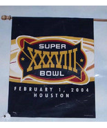 NFL Vertical Flag Superbowl XXXVIII February 1 ... - $19.79