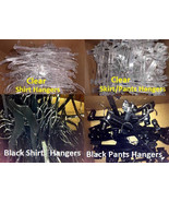 Lot of Clear and Black Variety Sizes Plastic Cl... - $13.85 - $24.74
