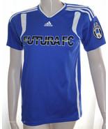 Adidas Futurafc Blue White Shirt Size Large KC ... - $7.42