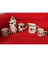 Lot of 5 Cow Mug Creamer Coffee Tea Pour Spout ... - $69.29