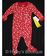 The Children's Place Pajamas Red Snowman 0-3 Mo... - $9.89