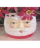 60's Vintage Santa planter open eyes Japan wrea... - $5.00