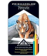 Prismacolor 12 Watercolor Water-Soluble Colored... - $16.95