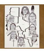 Limited Edition Native American Print by Native... - $49.97