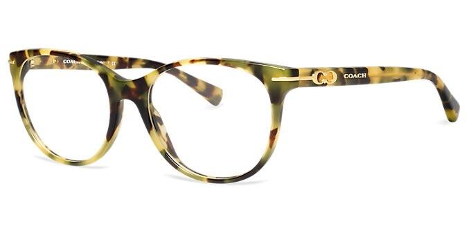 New Coach Eyeglass Frames : New Authentic Coach Eyeglasses HC6056 5093 BETTY Tortoise ...
